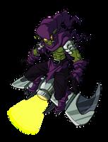 Green Goblin by RainDante