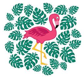 Flamingo by Vovina666