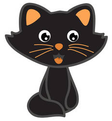 Black cat by Vovina666
