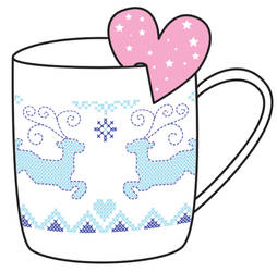 Christmas mug by Vovina666