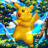 A Bad Pikachu by edwinsantander59