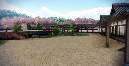 Japanese Mansion by chocosunday