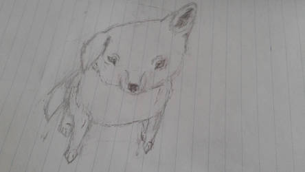 Cute dog by Bulefox