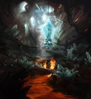 Crystal Cave by firedudewraith