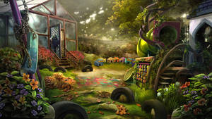 Otherworld 2 - playground by firedudewraith