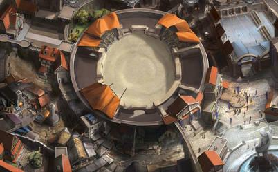 Gladiator City by firedudewraith