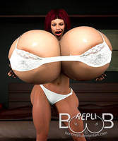 Nicoletta Barely Fitted by BoobRepli