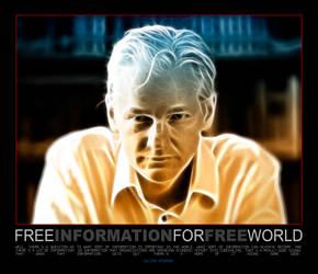 The World Is Wikileaks by shamantrixx