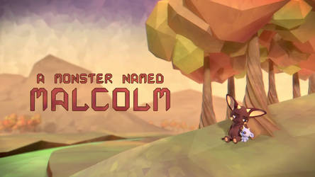 Short Animation - A Monster Named Malcolm by MokkaQuill
