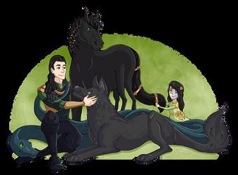 Lokis Army by Keshyx
