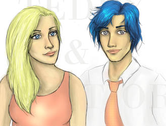 Teddy and Victoire by seventeen-lights