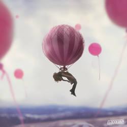 Ballon girl by eldodesign