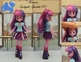 Custom Equestria girls Twilight Sparkle by ShiveringCanvas