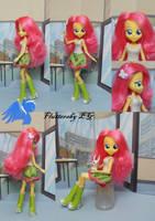 Custom Equestria girls Fluttershy by ShiveringCanvas