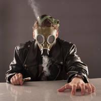 Gas mask 3 by kryminalistycy-STOCK