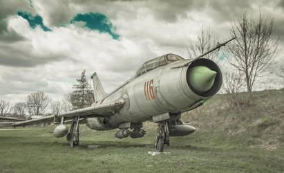 Sukhoi Su-7 Fitter by kryminalistycy-STOCK
