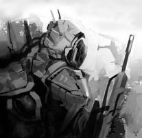 Infantry_speedpaint by dasAdam