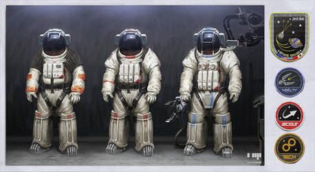 NEMESIS Suit Designs by dasAdam