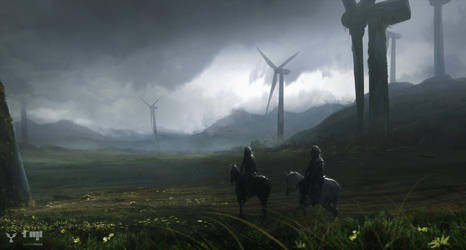 Windpark by dasAdam
