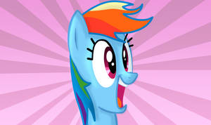 Rainbow Dash is excited by ikillyou121