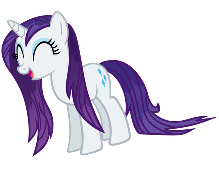 Wet Mane Rarity Vector by ikillyou121
