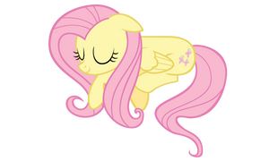 Sleepy Fluttershy Vector by ikillyou121