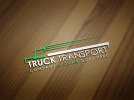 Truck Transport Logo Template by kazierfan