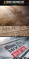 Trendy Logo Mockups - 8 Smart Templates by NuwanP