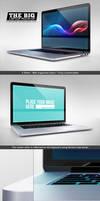 The Big Device Mock up - Desktop and Laptop by NuwanP