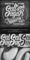 Salt and Sugar Generator - Photoshop Actions by NuwanP