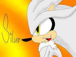 Silver the Hedgehog by XxXNightWriterXxX