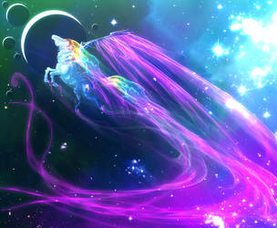 Rainbow Dash MECHA to the moons and beyond by unicornMECHA