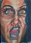 FACE OF A MAD WOMAN by rachelab74