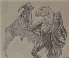 Winged Lizard by rachelab74