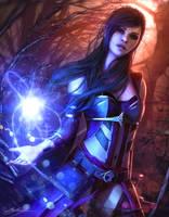 Diablo Wizard by Dropdeadcoheed