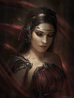 The Young Queen by Dropdeadcoheed