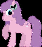 Pastel Goth Pony by PastelPaca