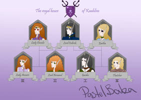 The Royal House of Kaahlim by PastelPaca