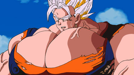 Indestructable! The Ultimate Steroid Majin Buu by Super-buffed