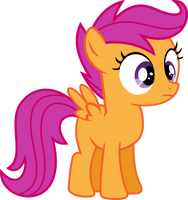Scootaloo Vector (Version 2.0) by uxyd