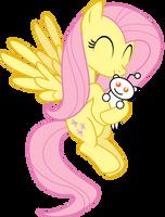Fluttershy loves Snoo by uxyd