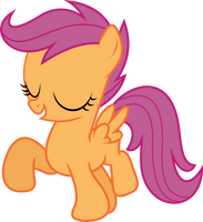 Marching Scootaloo by uxyd