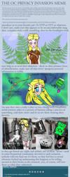 The OC Privacy Invasion Meme:D by Dreamsprite