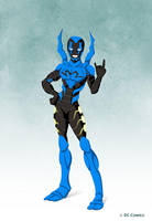 Blue Beetle by Commission by tremary
