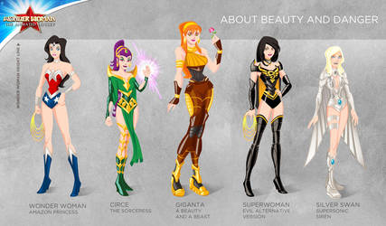 Wonder Woman Cartoon Show: About beauty and danger by tremary