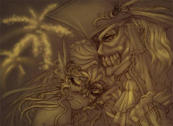 Masquerade ball by Azu-Chan