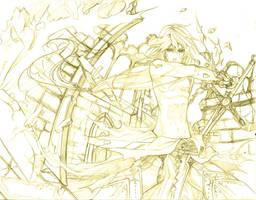 final battle by Azu-Chan