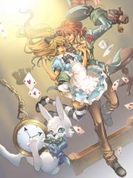 Alice in Wonderland by Azu-Chan