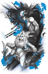 Lol : kindred by Azu-Chan