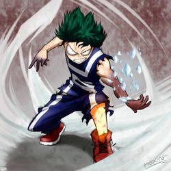 Midoriya Izuku - My Hero Academia by MoXiio-Kun